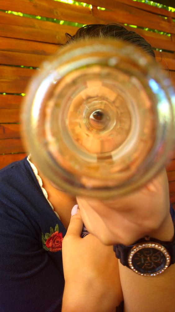Look through the bottle by IvanaSkobic