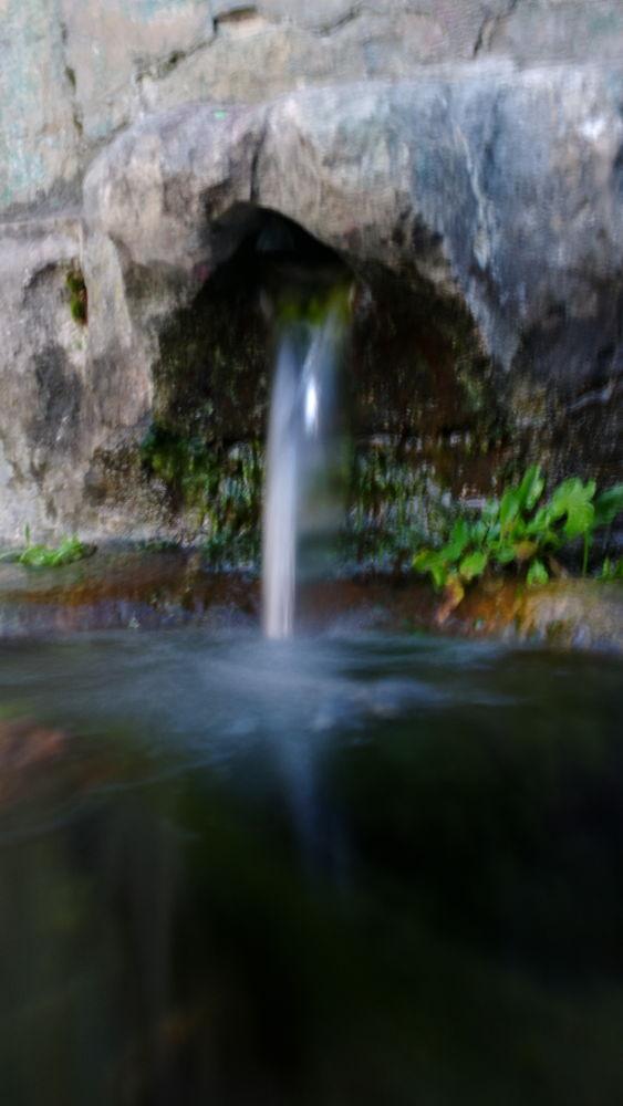 small waterfall by IvanaSkobic