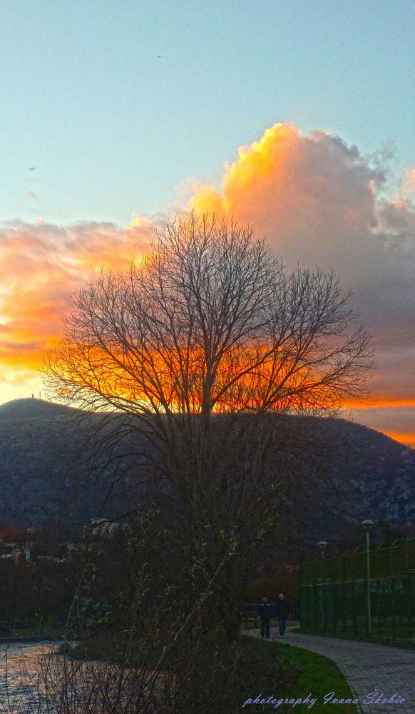 sunset by IvanaSkobic