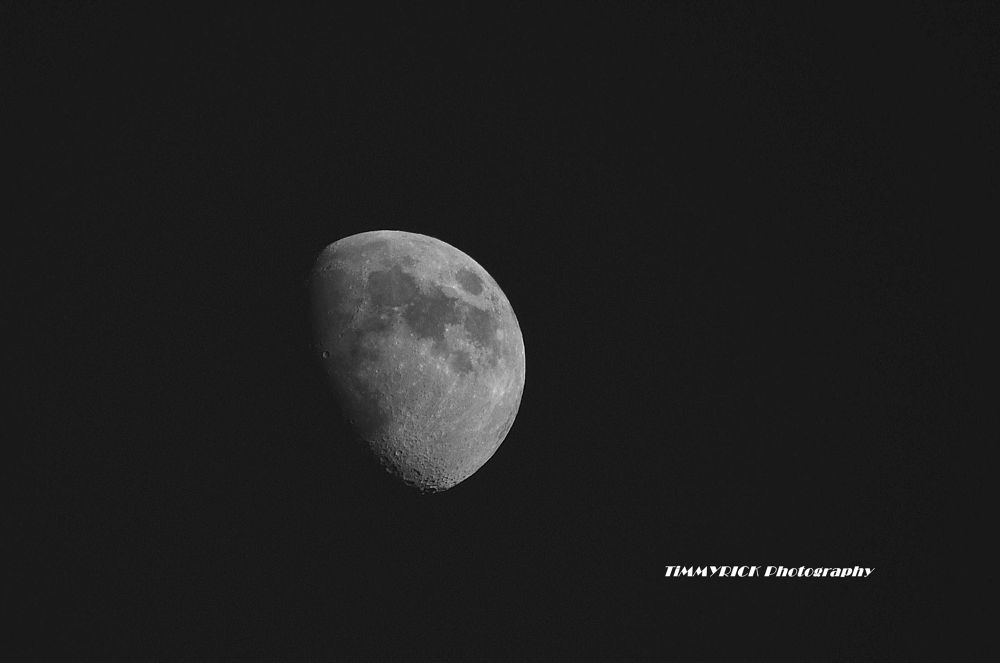 Moon 10-13-2013  by Timmyrick