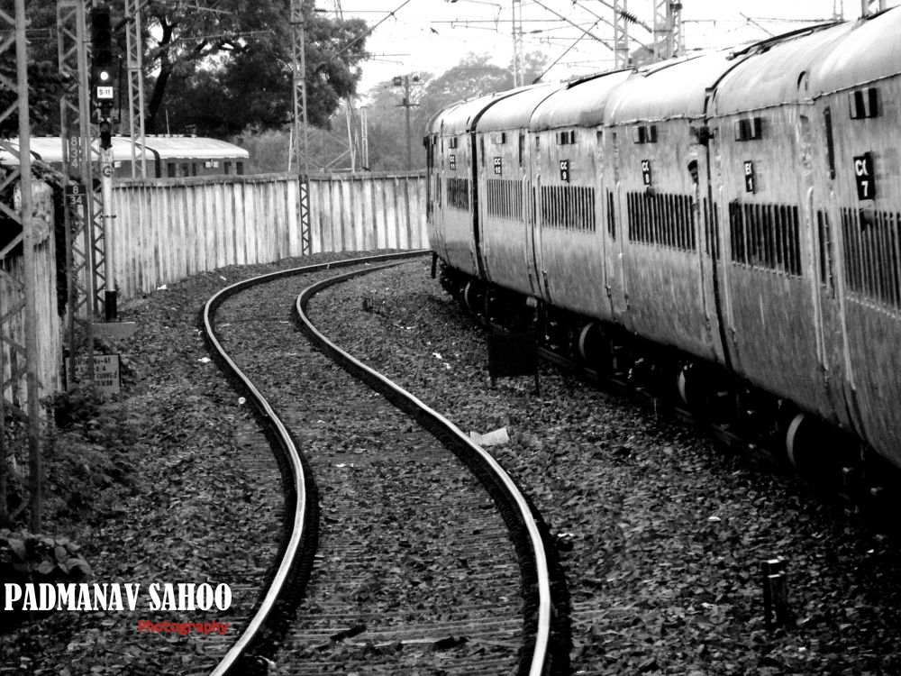 Lines which never meet, but bring people closer.. by Padmanav Sahoo