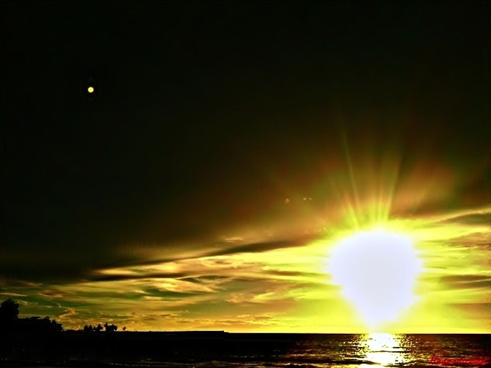 Sunset by Haqqadirrauf