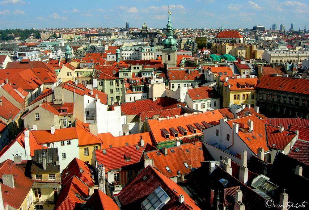 DSCN1477 Praha..tetti by iroito39
