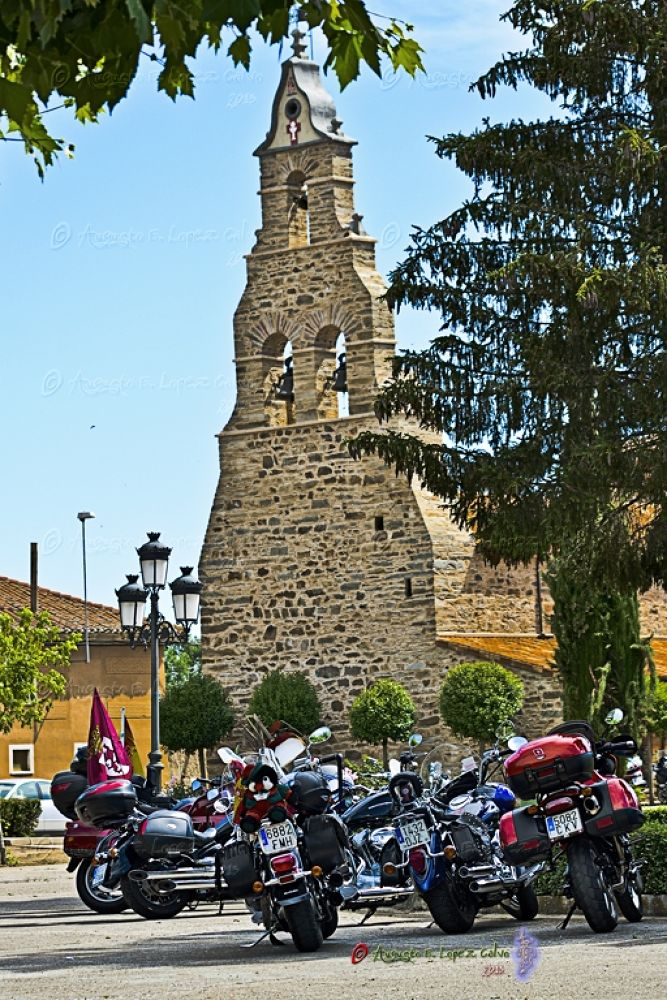 Photo in Vehicle #motos #iglesias #rural