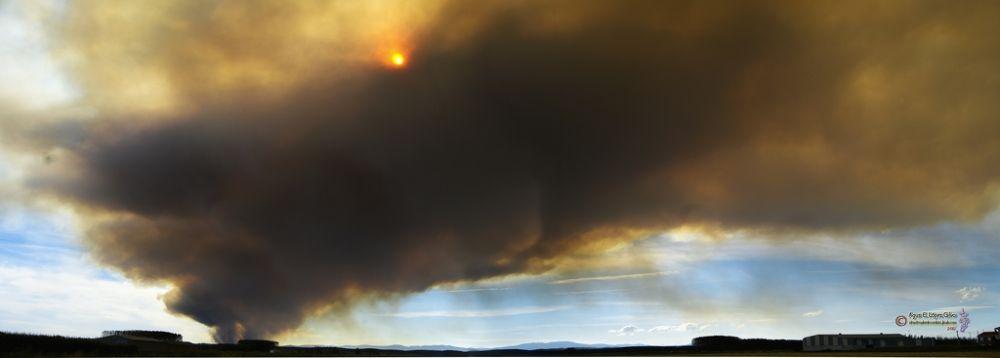 Photo in Random #fuego #panoramas