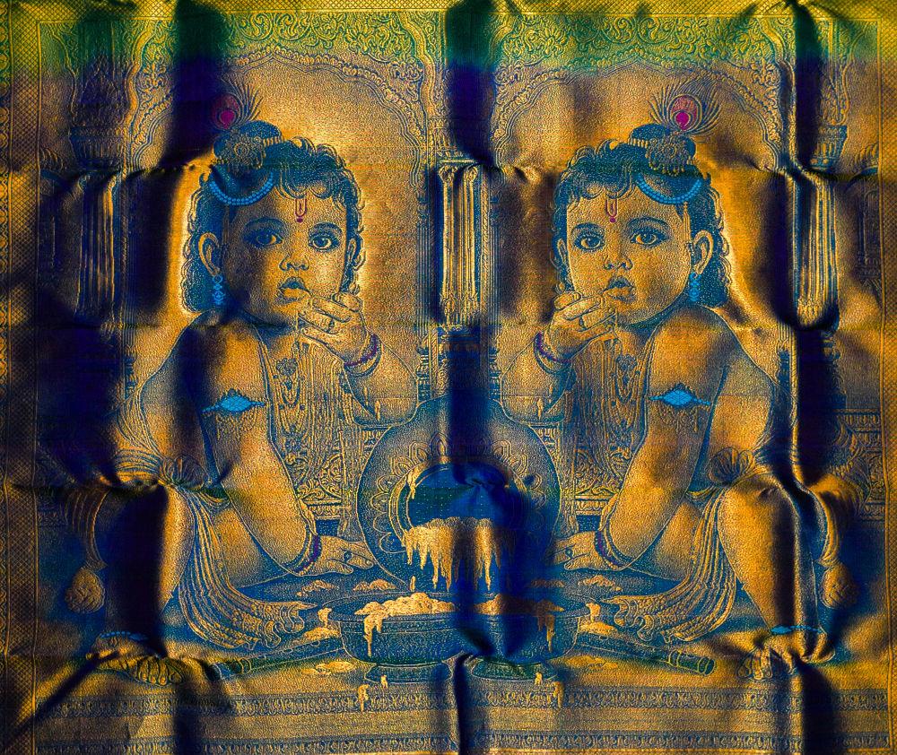 Silk Saree Texture by Raj Marlecha