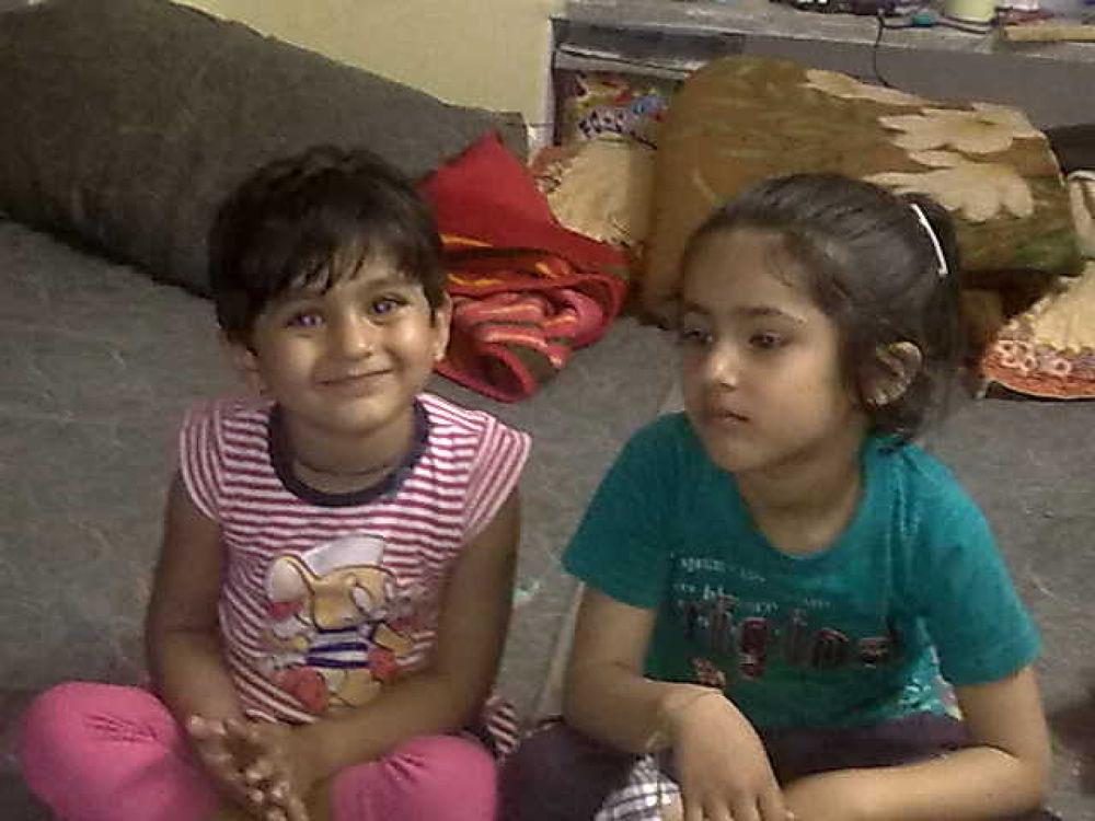 nitya and jhanvi by krishnasaajnani2011