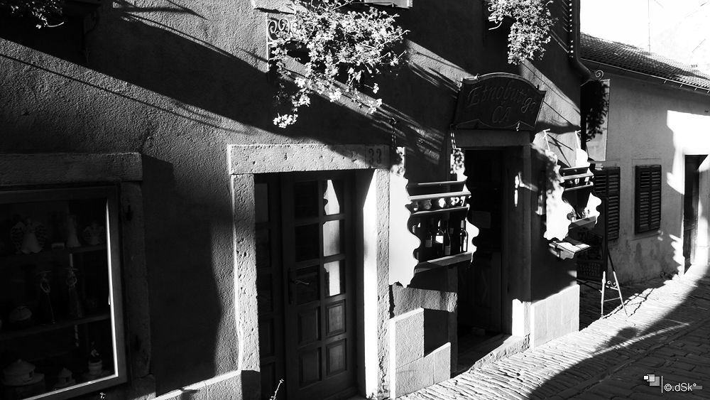 old istrian street by DuskoKovacic
