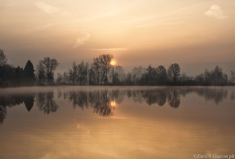 Sunset by Enrico Giacon