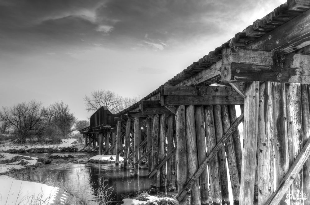 Railroad Bridge by alisadoolan