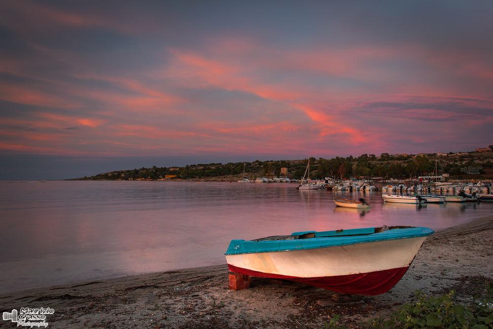 I colori del tramonto... by Maurizio Grasso