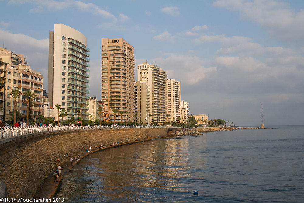 Beirut Corniche. by ruthmoucharafieh