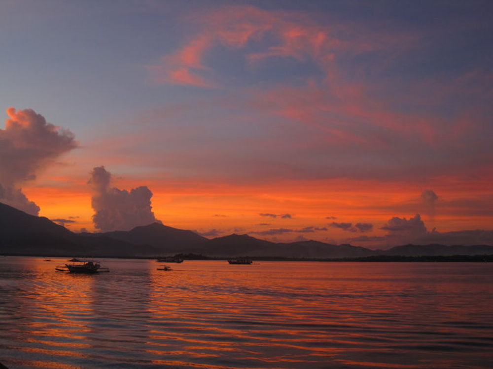 Puerto Princesa Bay Summer Sunset by Shanester
