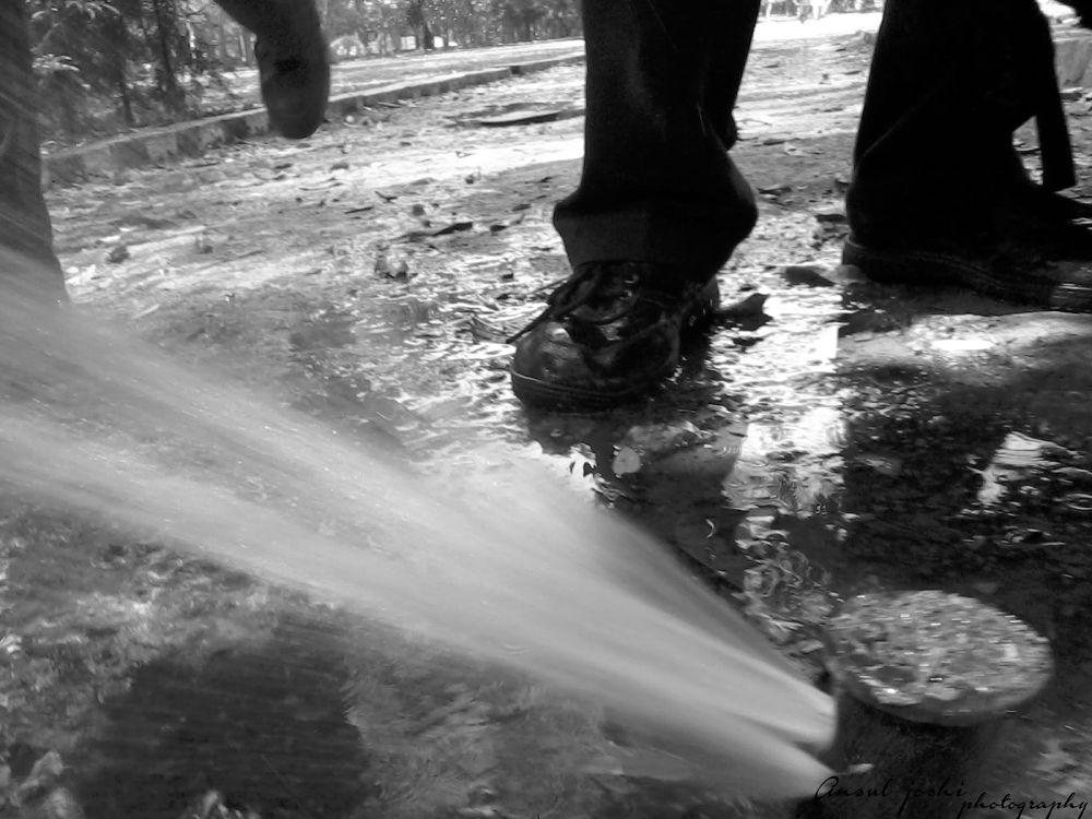 Water sprinkler by Ansul