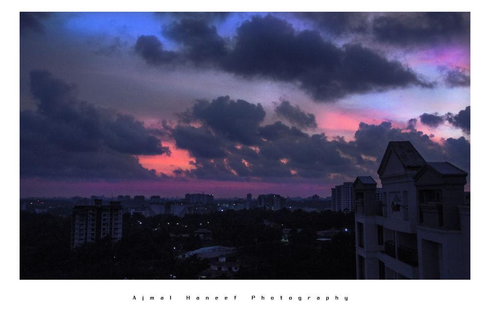 Sky Line Night by ajmalhaneef
