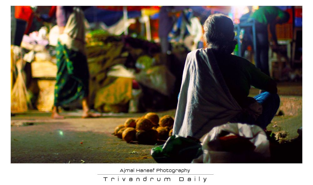 Coconut Seller by ajmalhaneef