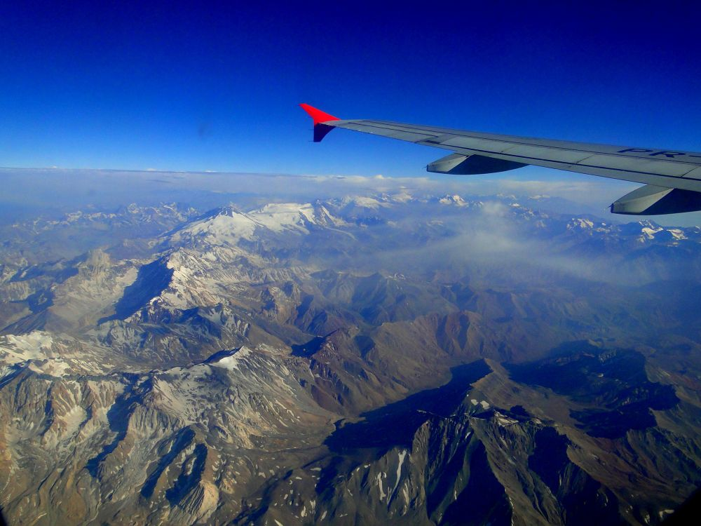 FLYING FROM CHILE TO BRAZIL. by Joselito Nardy Ribeiro