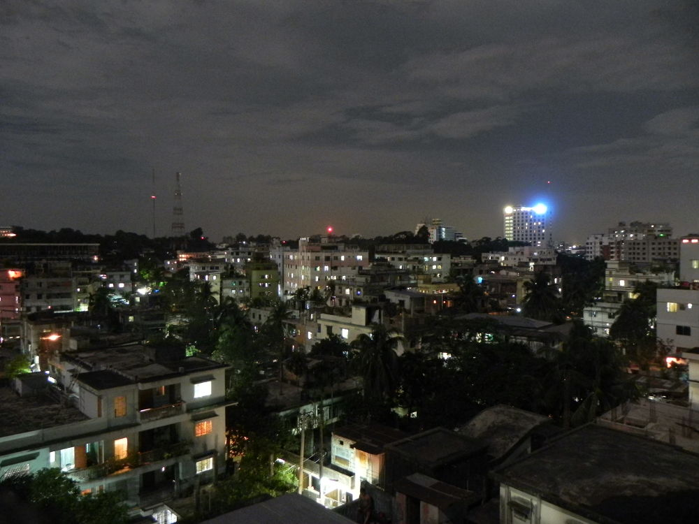 My City under Super Moon by mithu