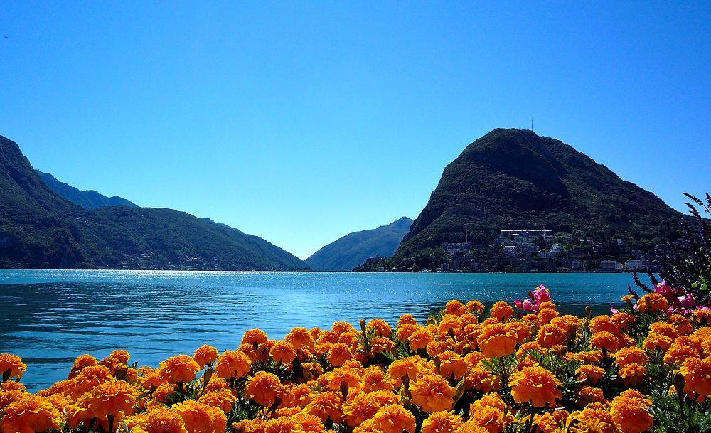 Lago di Lugano... Svizzera by giuseppegodone