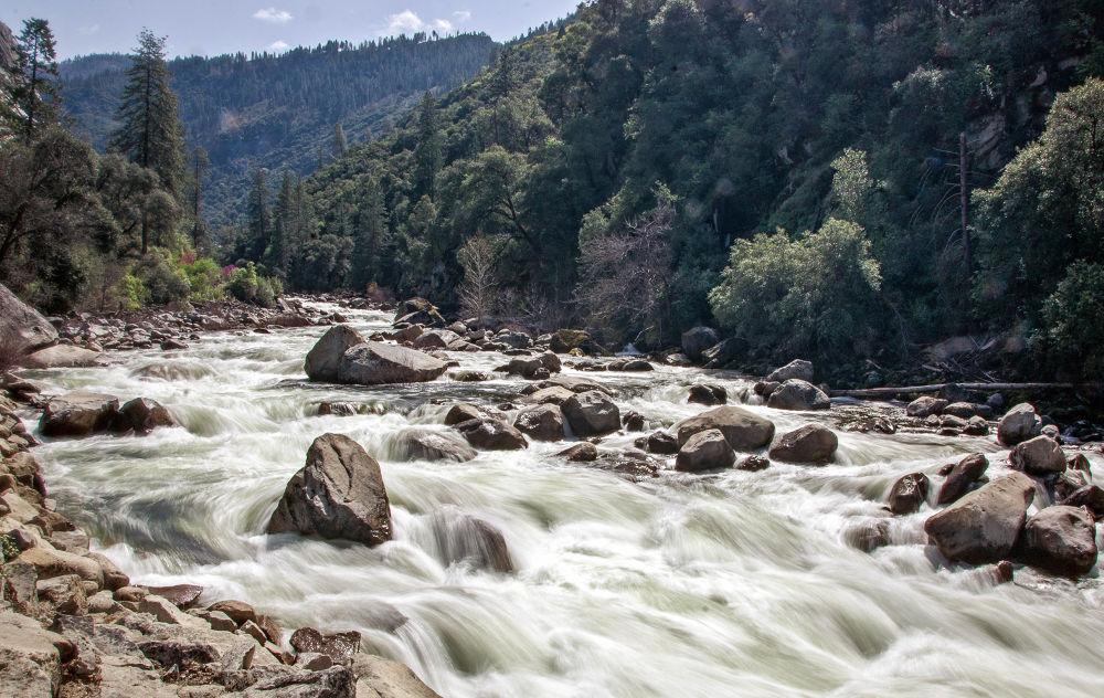 Merced River (Spring Rush) by robjgrif