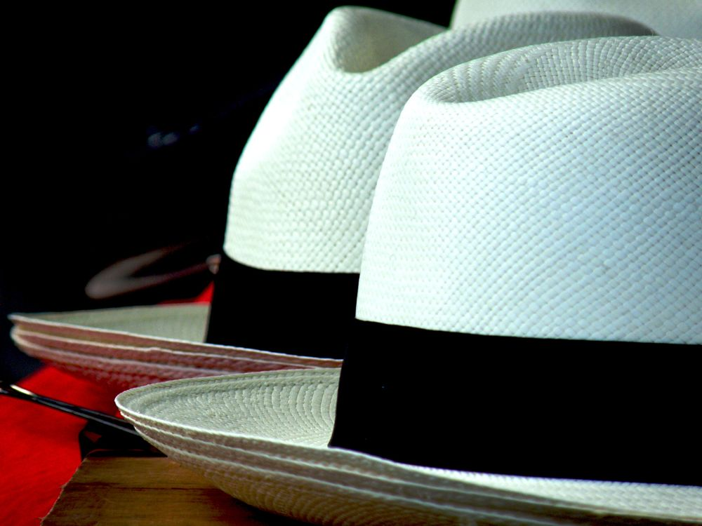 The reknown Panama hat by Grégory Hallé Petiot