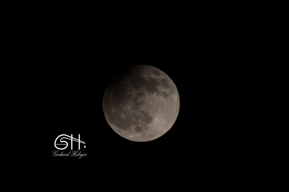 Mooneclipse, 25th april 2013 by gerhardhobiger