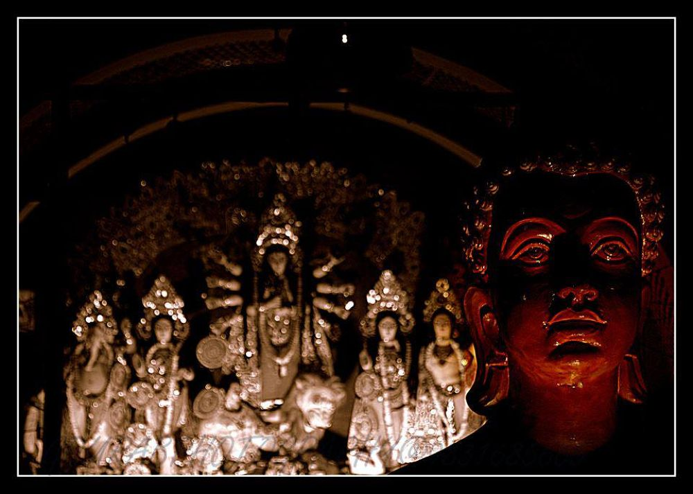 BUDDHA & FAMILY by GOURABPHOTOGRAPHY