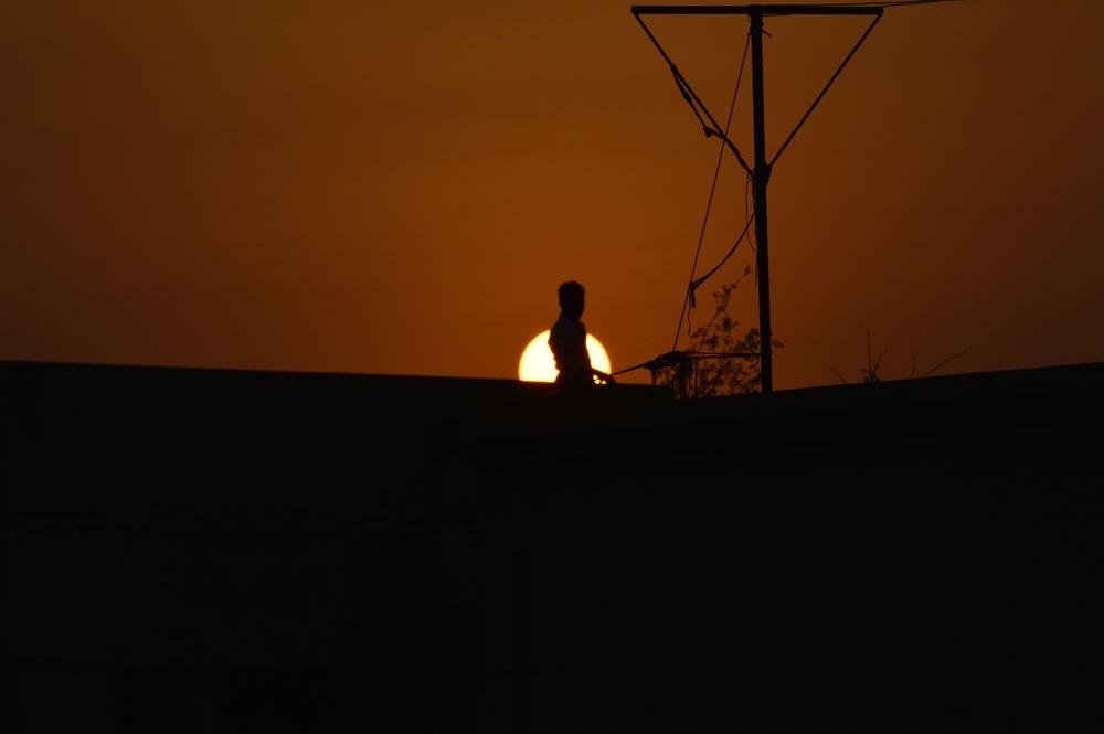 Sun Set by turjohossain