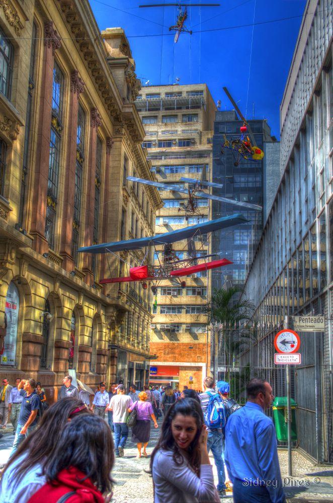 Rua Álvares Penteado by Sidney Pires Fotografia