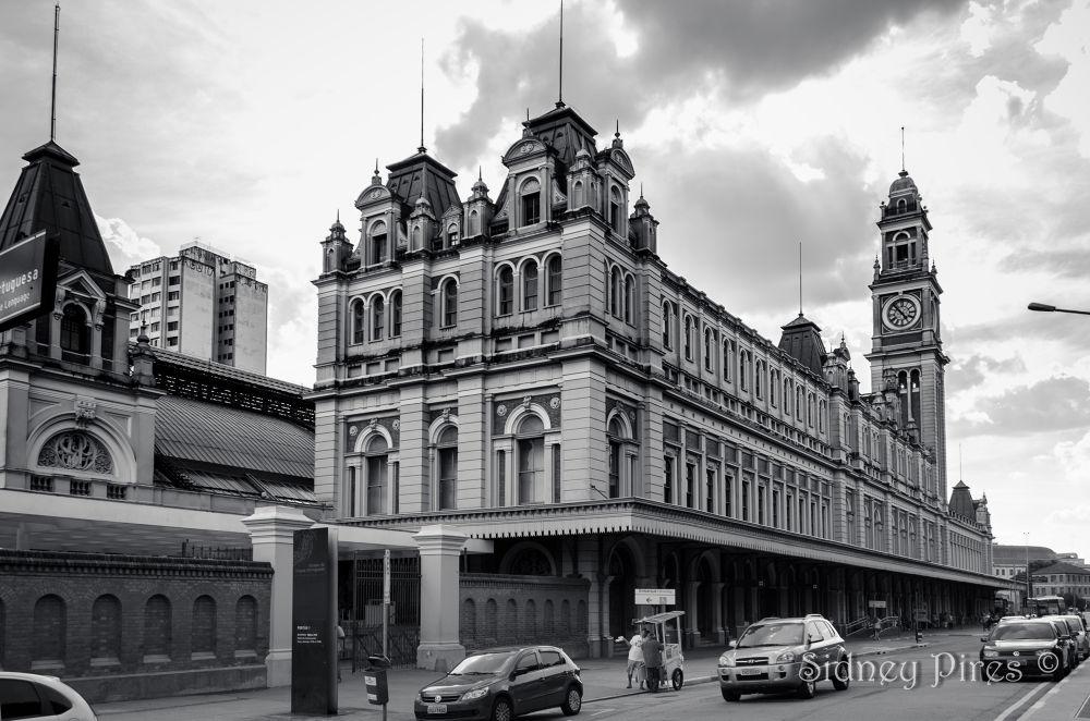Estação da Luz by Sidney Pires Fotografia