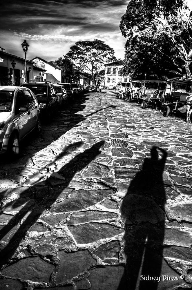 Sombras em Tiradentes by Sidney Pires Fotografia