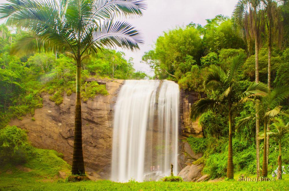 Cachoeira Grande - Lagoinha - SP by Sidney Pires Fotografia