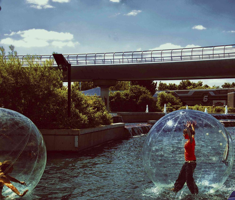 bulle sur l'eau by photomagaflor