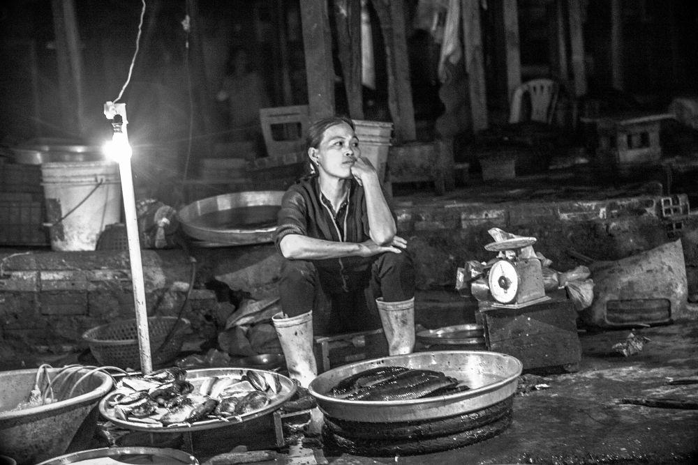 la marchande de poissons by photomagaflor