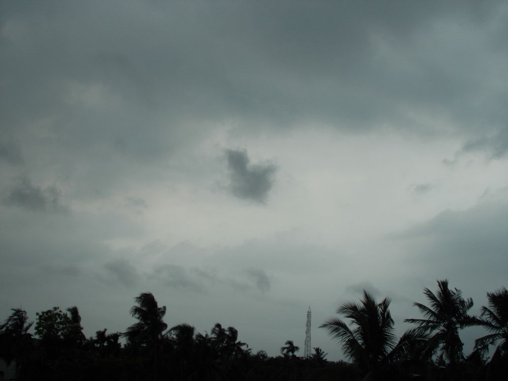 clouds today by Subho6222