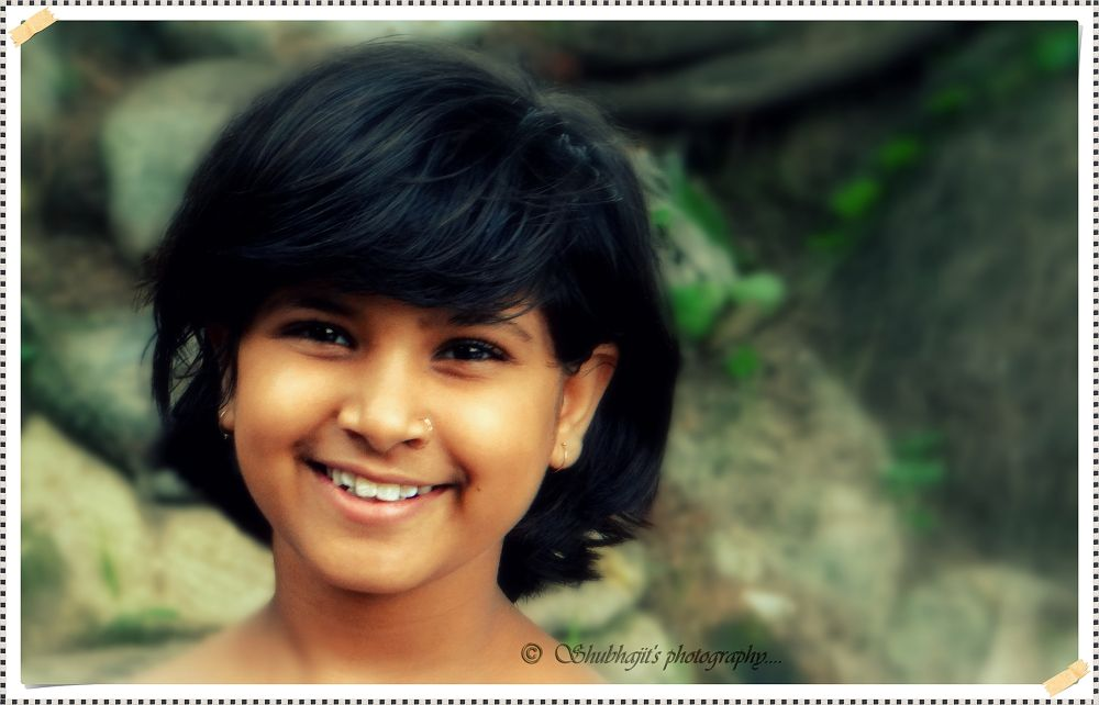 """""""Peace begins with a Smile..... """" Thanks to my Vagni ' Khushi ' by Shubhajit Ghosh"""
