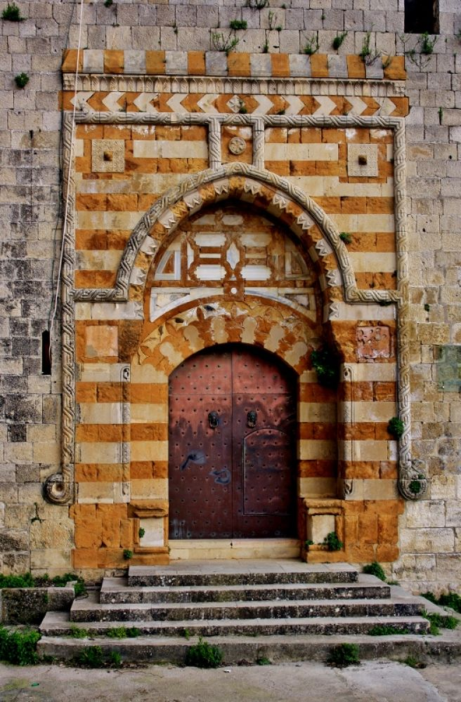 Old Door of a Castle, Lebanon by sakabedoyan  Jack