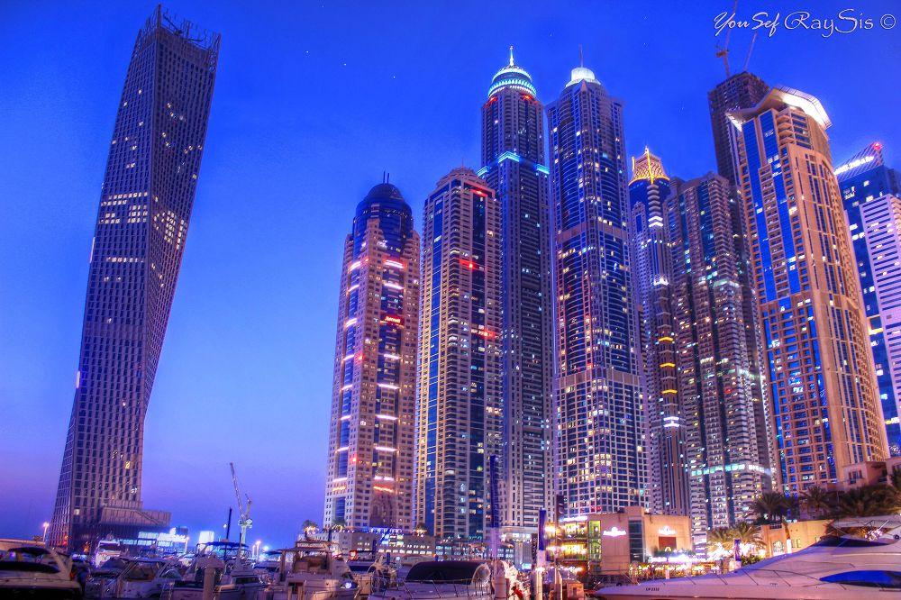 Dubai marina  by Yousef Raysis
