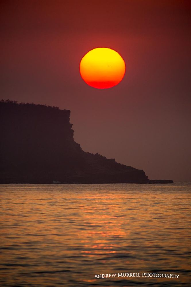 Sun Rising over Box Head by andrewmurrell127