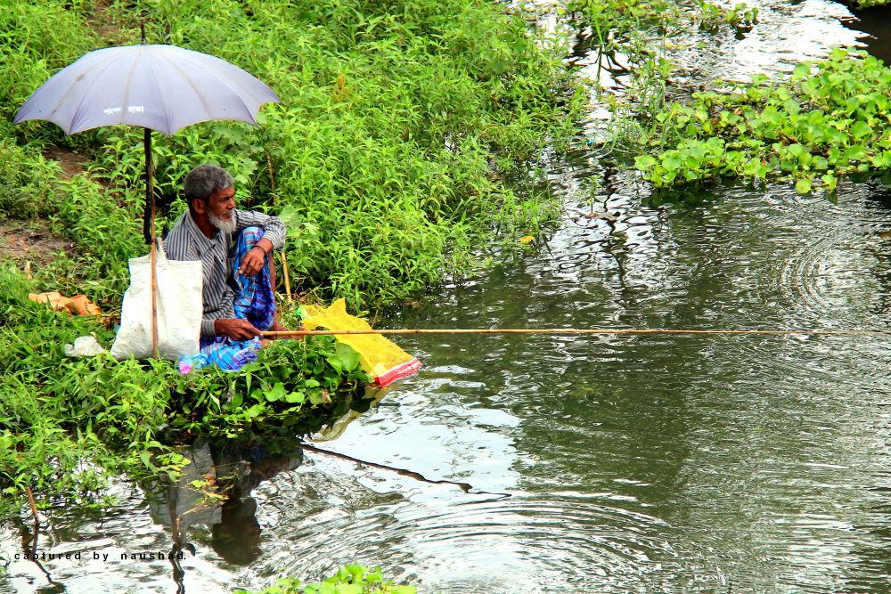 Fishing in Bangladesh.  by naushadssayeed