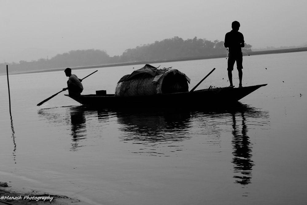 Patience of a Fisherman by manashdasdas4