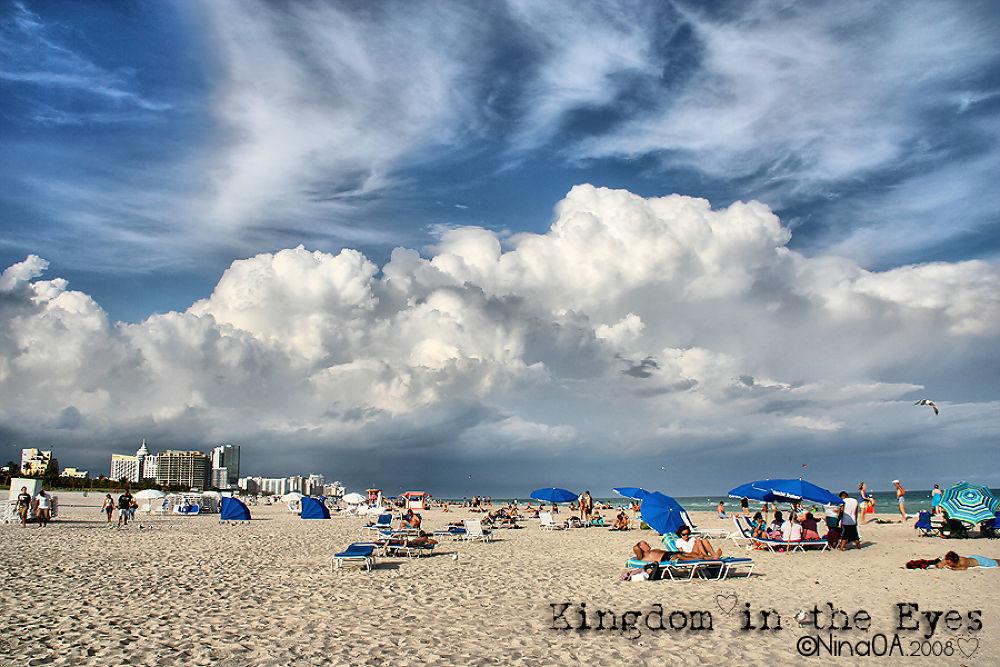 Miami Beach, USA by NinaOA