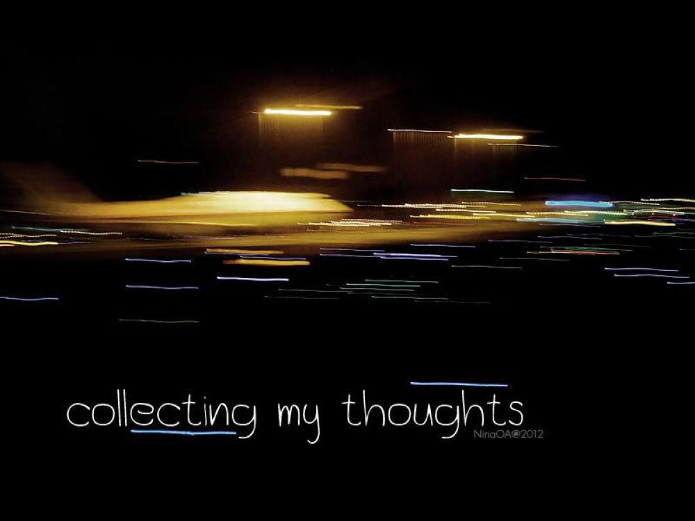 Collecting my Thoughts by NinaOA