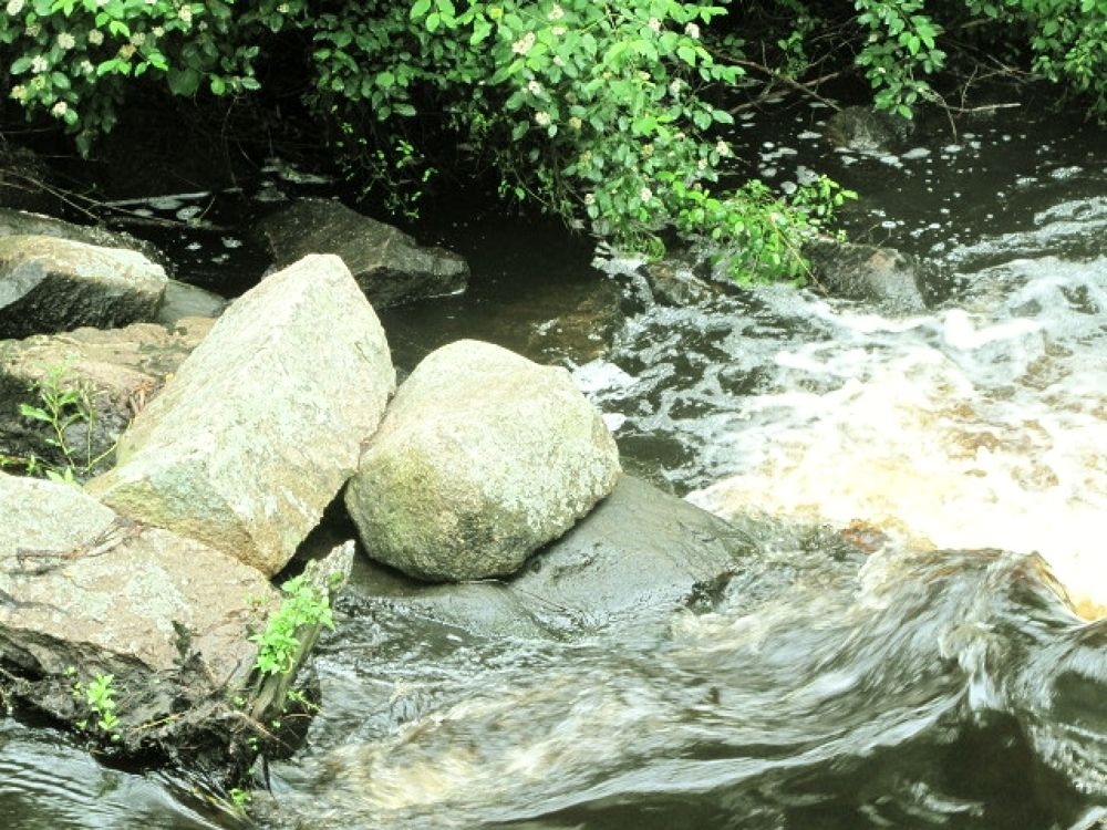 IMG_2024  rocks in the river by paul crimi by paulcrimi178