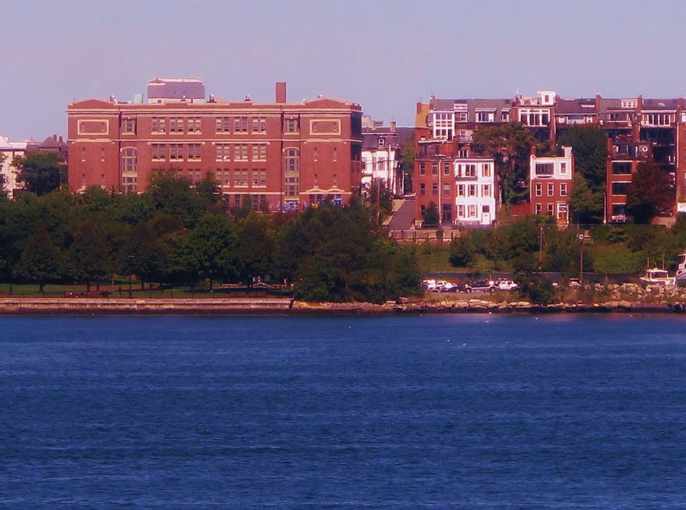 IMG_4475  EAST BOSTON FROM THE WATER. by paulcrimi178