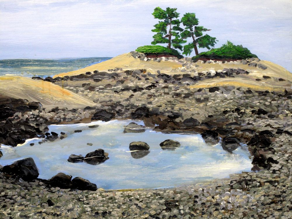 landscapes 008  FLY POINT MAINE BY PAUL CRIMI  PAINTING by paulcrimi178