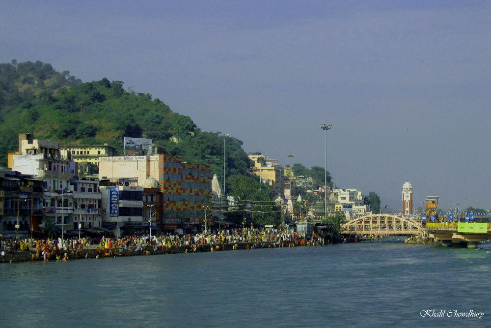 Haridwar, India by Khalil Chowdhury