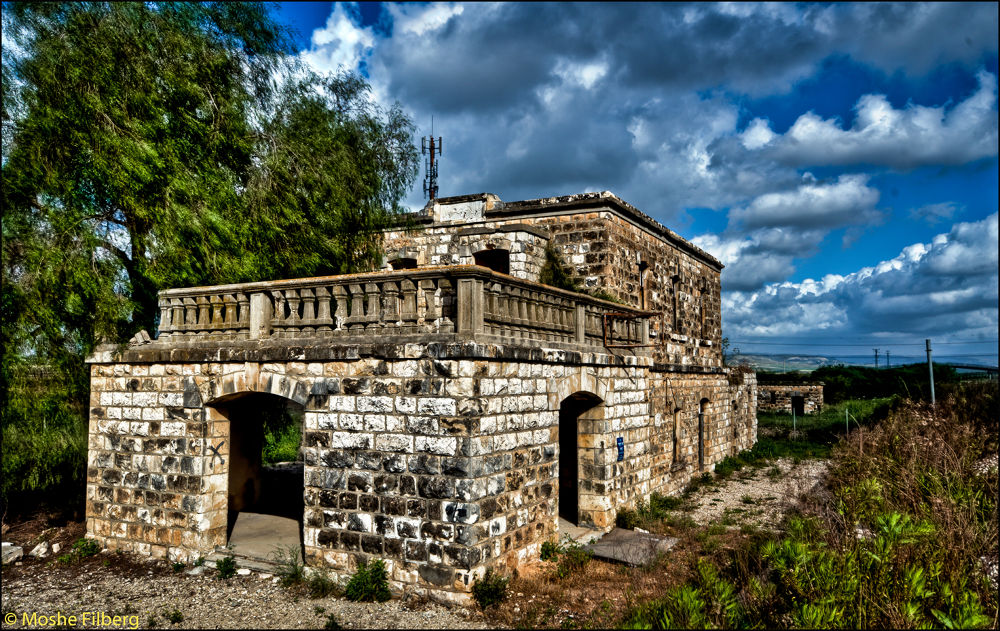 Old Railway Station by Moshe Filberg