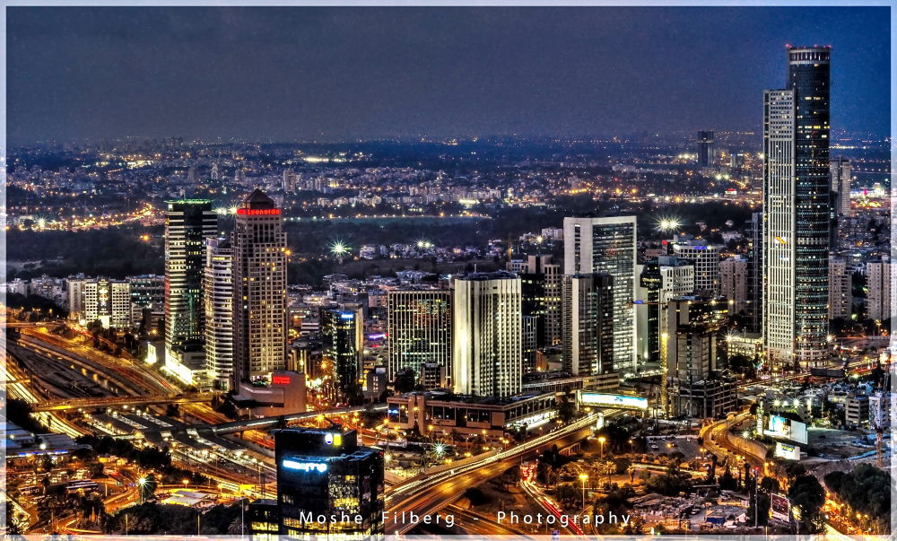 This  not New york this is Tel Aviv by Moshe Filberg