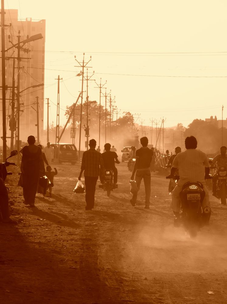"""Dusty Road"" by Mohit Bamta"